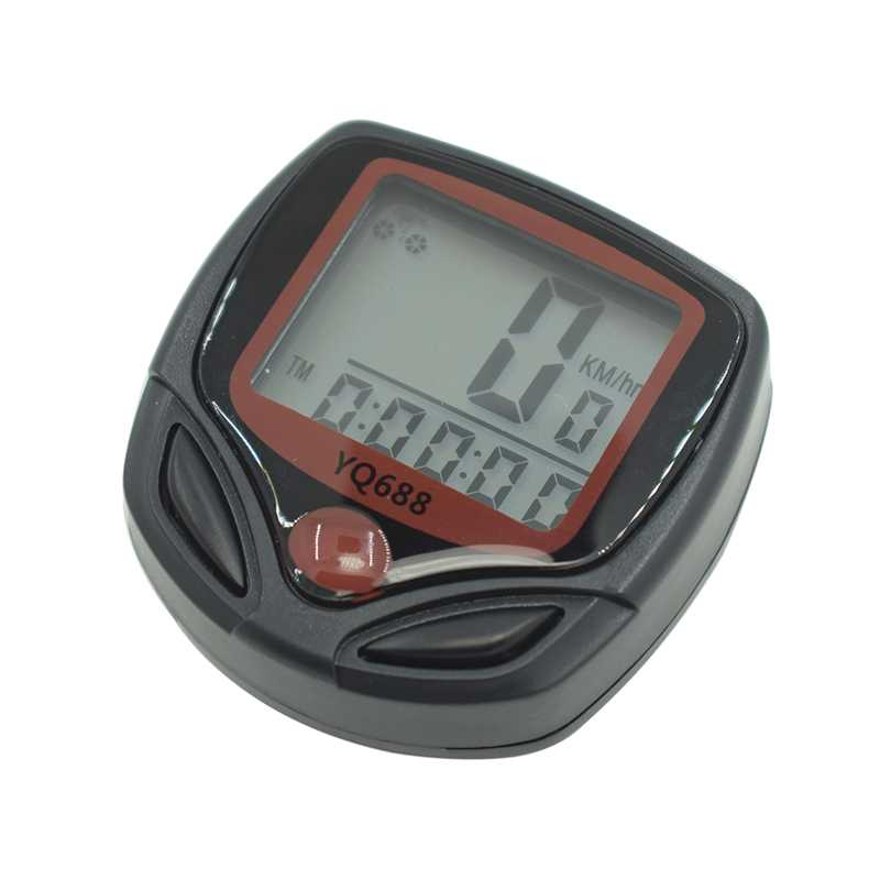 1 Set Bicycle Speedometer <font><b>Bike</b></font> Cycle Computer Wireless Cycling Computer Bicycle Speed <font><b>Bike</b></font> <font><b>Power</b></font> <font><b>Meter</b></font> <font><b>Bike</b></font> Computer image