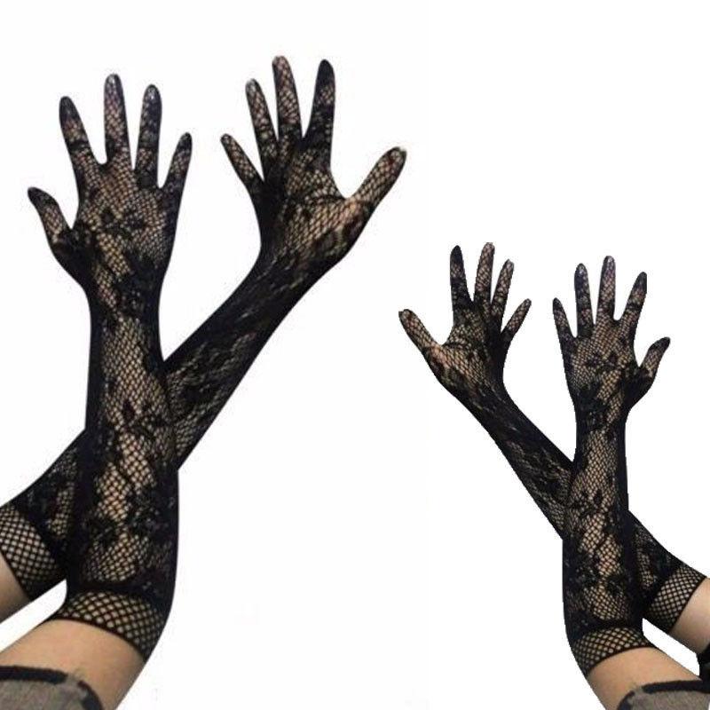 6 Farben Sommer Tranparent Frauen Arm Wärmer Arm Hülse Feste Farbe Lange Finger Handschuhe ZuverläSsige Leistung Armstulpen Damen-accessoires
