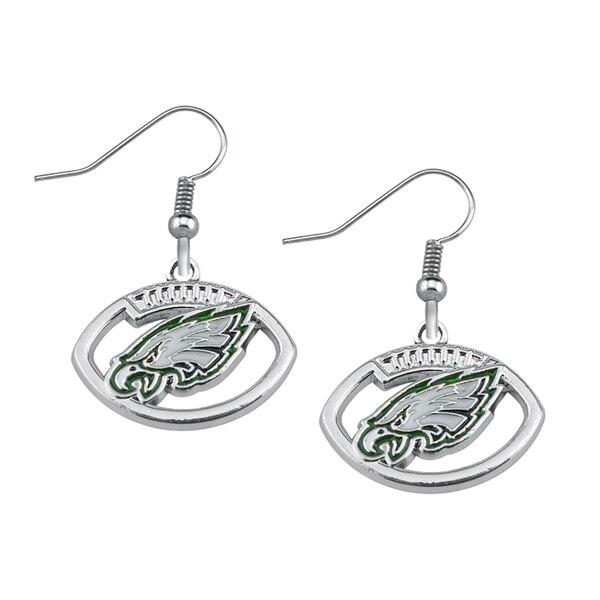 Philadelphia Eagles Logo Drop Earrings 5 pairs Set