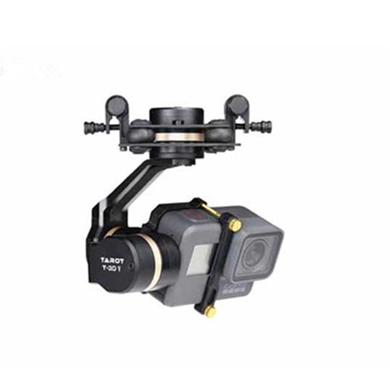 Tarot 3D V Métal 3 axe PTZ Cardan pour Gopro Hero 5 Caméra Stablizer TL3T05 pour FPV Drone Système D'action sport Caméra 50% OFF