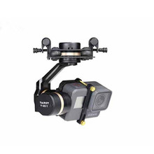 Tarot 3D V Metal 3 axis PTZ Gimbal for Gopro Hero 5 Camera Stablizer TL3T05 for FPV Drone System Action Sport Camera