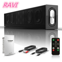 2018 Newest Bluetooth Speaker Subwoofer with Remote Control Card Home Theater Audio HIFI Stereo Bluetooth Speaker Support AUX