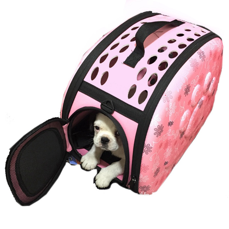 Portable Dog Carrier Bags for Small Dogs Hand Case Dog Car Protector Carrier Travel Puppy Cat Kennel Carrier Case Pet Supplies