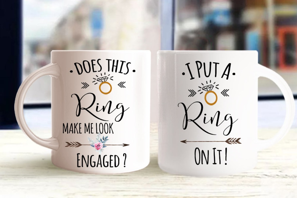 Engagement Engage Mugs Beer Travel Cup Coffee Mug Tea Cups Home Decor Novelty Friend Gift Birthday Gifts