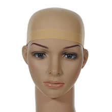 2Pcs Hair Mesh Wig Cap Hair Nets Wig Liner Hairnet Snood Glueless Dome Wig Cap Stretchable Unisex Elastic Hair Net Wig Caps(China)