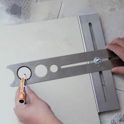 1 шт. Многофункциональный плитка локатор перфоратор Tapper Регулируемый плитки украшение аксессуар для строительства J3