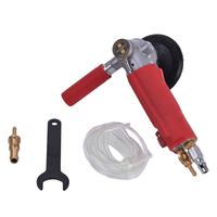 High Quality Water fed type 4 inch pneumatic Professional Air Sander Water Wet Sander Polisher Angle Grinder tool