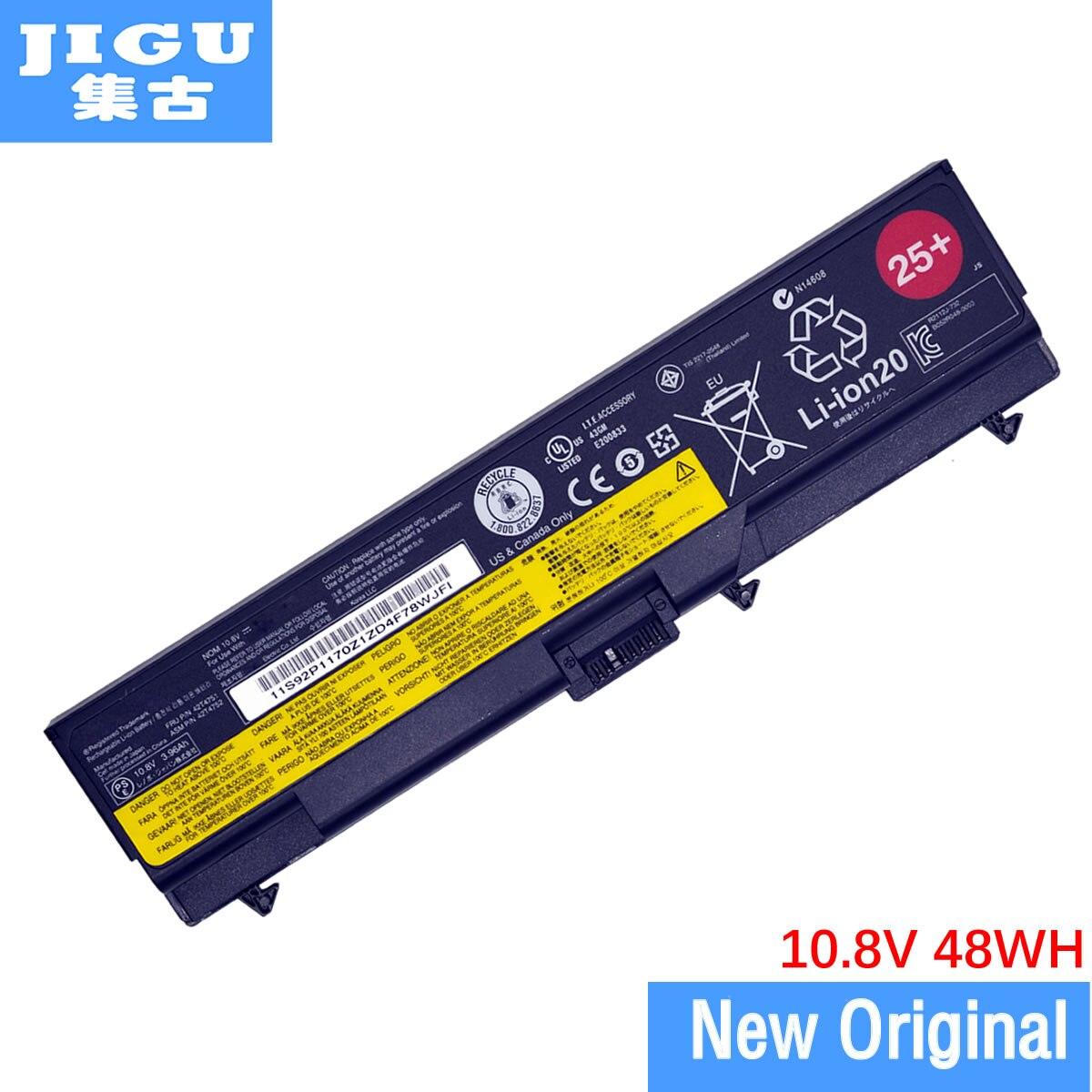 JIGU Original Laptop Battery For Lenovo ThinkPad Edge 14 15 E400 E420 E425 E500 E520 E525 W500 E40 E50 2842 2874 2847