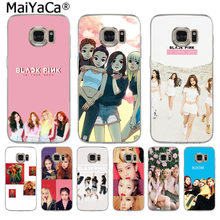 MaiYaCa BLACK PINK BLACKPINK k-pop kpop Newest Super Phone Case for Samsung S3 S4 S5 S6 S6edge S6plus S7 S7edge S8 S8plus(China)