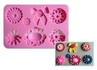 Jewellery Shape Silicone Mold Fondant Paste DIY Decorative Pendant Cupcake Pressing Silicone Decorating Mold Chocolate Gum