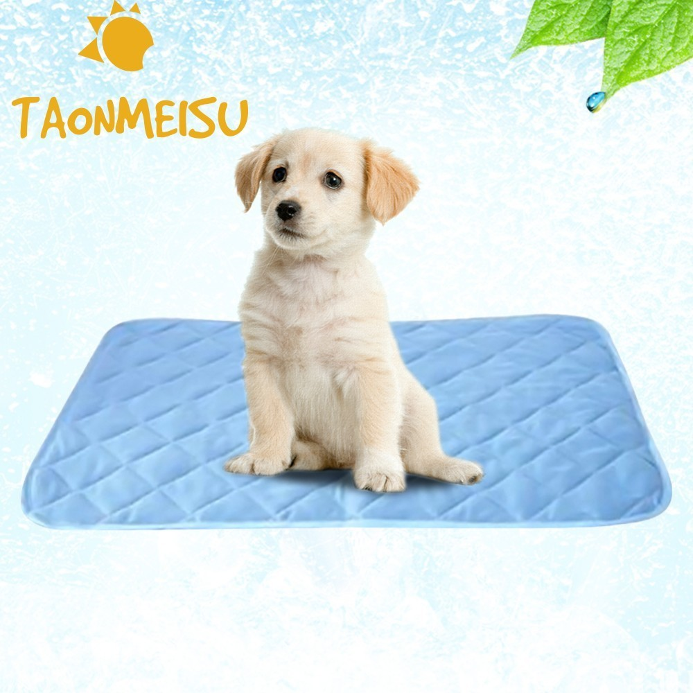 Hund Haustier Bett Kühler Cool Non Toxic Pet Cooling Pad Kissen ...