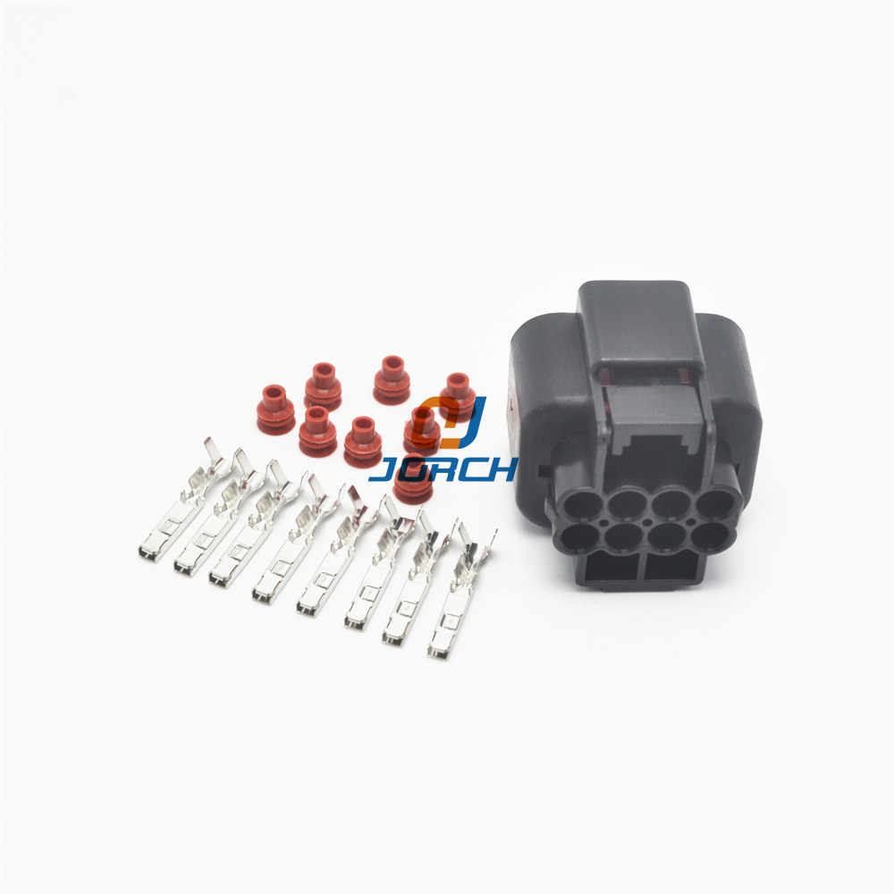 5 sets 8 pin kum waterpfoof housing plug auto electric wiring harness connector pb625 08027  [ 1000 x 1000 Pixel ]