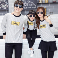 2016 Family Matching Outfits Striped Mother Daughter Father Son Clothes Family Clothing Parent-Child Family Style Set SM03