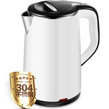 Новый электрический чайник бойлер Бытовая Автоматическая мощность резки 304 нержавеющая сталь Подлинная Высокая емкость мгновенный горшок