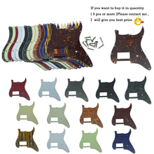 цена на Dopro ST Strat One Humbucker Guitar Pickguard Scratch Plate Fits Fender Delonge Stratocaster Various Colors