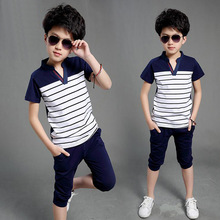 Binhbet Clothes 2019 Summer Baby Boys Clothes Shirt+Shorts Outfit Kids Clothes Boys Sport Suit Toddler Boys Clothing Sets
