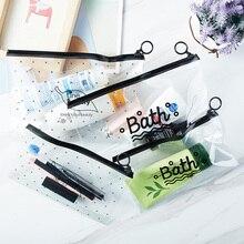 Transparentna Kosmetyczka Bath
