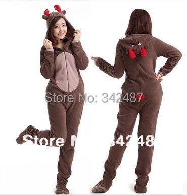 Popular Adult Onesie Christmas Deer-Buy Cheap Adult Onesie ...