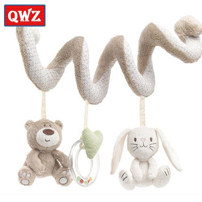 QWZ الوليد الطفل حشرجة أفخم لعبة السرير - اللعب القطيفة