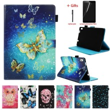 Magnetic Cover Case For Lenovo Tab 4 8 Plus TB-8704N TB-8704F Tablet PU Leather Stand Folio Cover For Lenovo Tab 4 8 Plus Case цена 2017