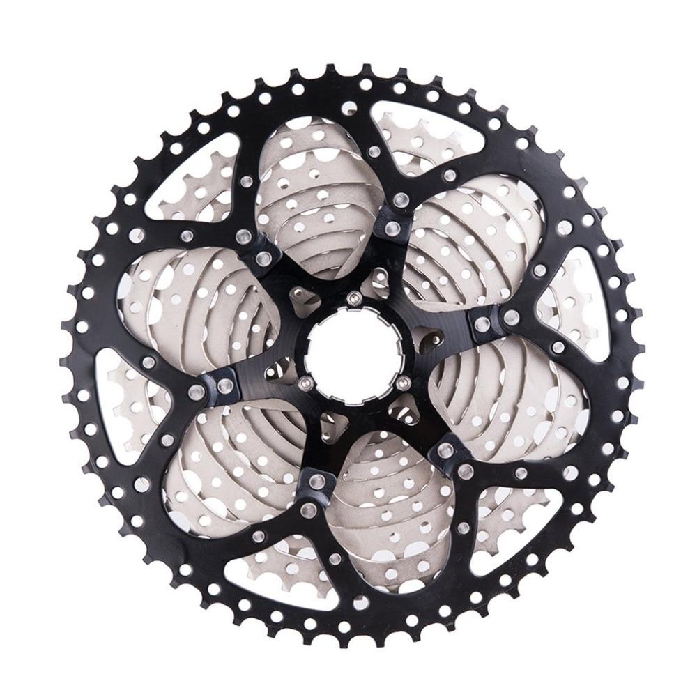 Marque ZTTO 11 vitesses Cassette 11-50 T Compatible vélo de route Sram système haute résistance en acier pignons pliant noir argent Gear