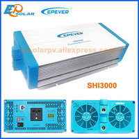Pure Sine wave EPEVER series 3000W power inverter Off grid Tie system application DC 24V to 220V SHI3000 22 230V output AC