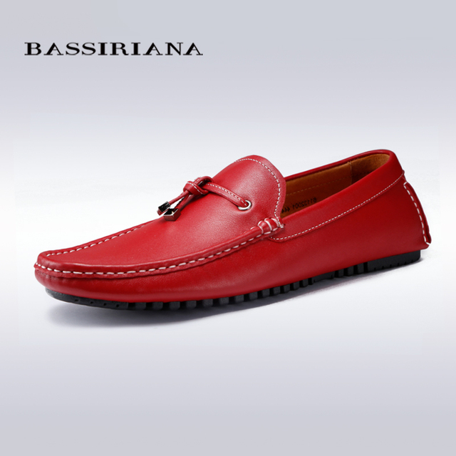 colores gamuza hombre y para rojo zapatos genuino casuales cuero BASSIRIANA negro azul qf0U1wPxn