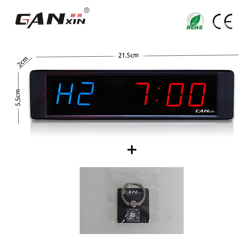 Ganxin 1 crossfit interval timer gym timer table clock