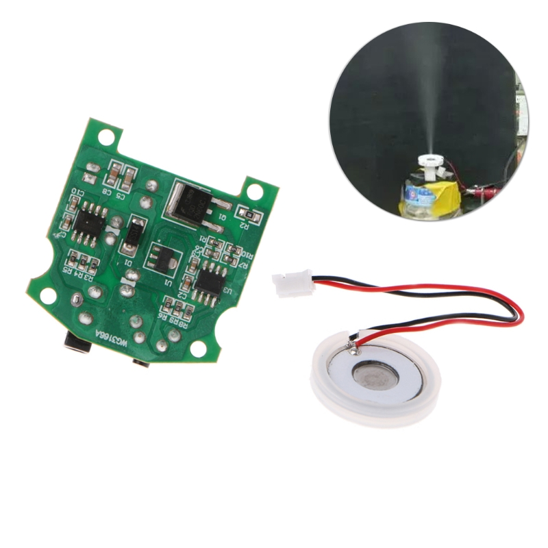 D20mm 113 KHz brumisateur à ultrasons humidificateur en céramique capteur d'atomisation 3.7-12 V