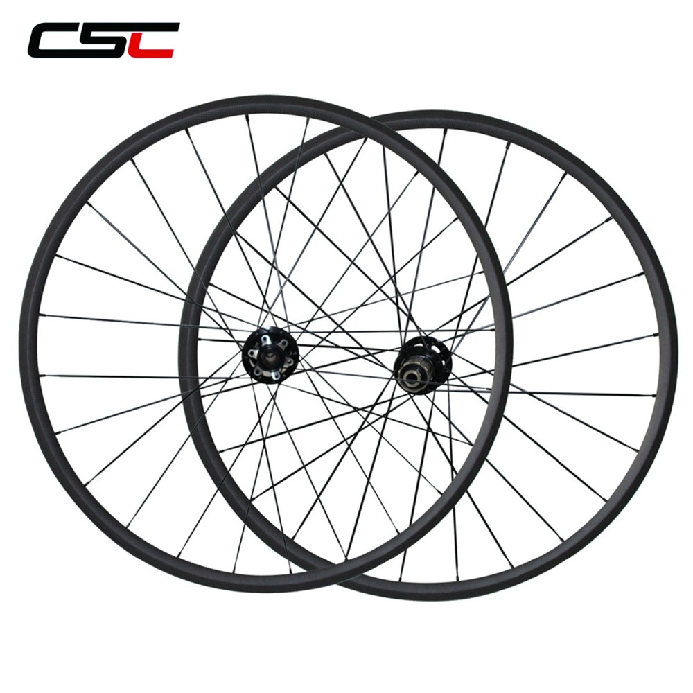 700C Carbon Disc Wheels 24mm 38mm 50mm 60mm 88mm Tubular Or Clincher Cyclocross Carbon Bike Disc Wheelset 6 Bolts
