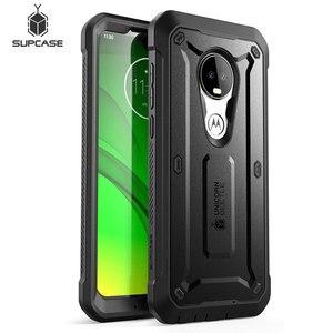 Image 1 - Fall Für Moto G7 (2019) SUPCASE UB Pro Full Körper Robuste Holster Abdeckung mit Integrierten Bildschirm Protector Für Motorola Moto G7 Fall