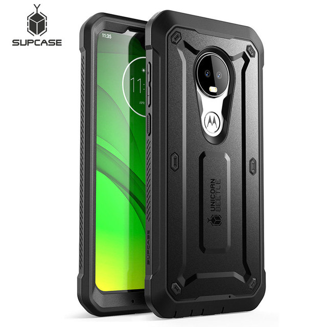 Fall Für Moto G7 (2019) SUPCASE UB Pro Full Körper Robuste Holster Abdeckung mit Integrierten Bildschirm Protector Für Motorola Moto G7 Fall