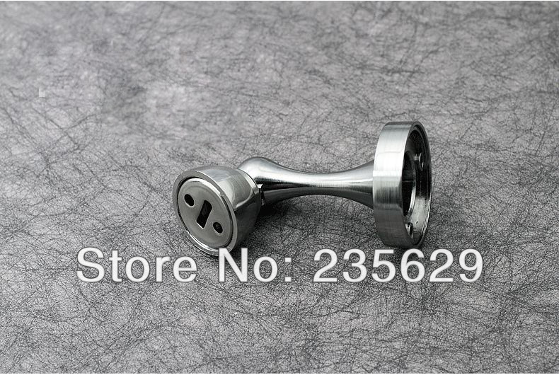Free Shipping, brushed stainless steel finished Door Stopper,suitable for all kinds of doors,Blister Packaging High suction free shipping wall mounted brass door stopper suitable for interior doors door holders for sale high suction 356g