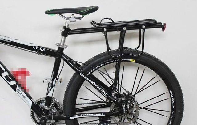 Mountain Bike Pannier Rear Rack 50kg Is Safe Fit Disc Brake V And
