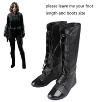 Agents Of S H I E L D Cosplay Shoes Skye Quake Cosplay Boots Adult Women
