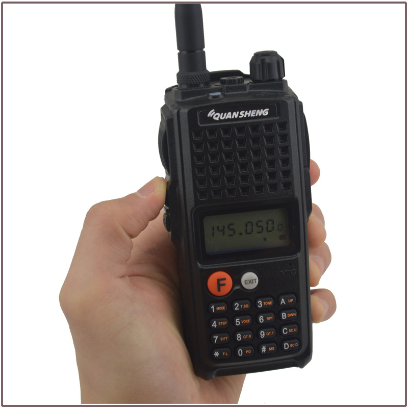 QuanSheng TG-K10AT 10 W talkie-walkie VHF136-174MHz 10 km chaîne de communication Portable Radio bidirectionnelle avec batterie 4000 mAh