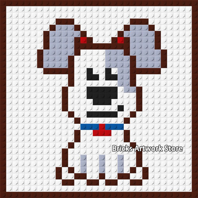 Pixel Art Renard Mignon