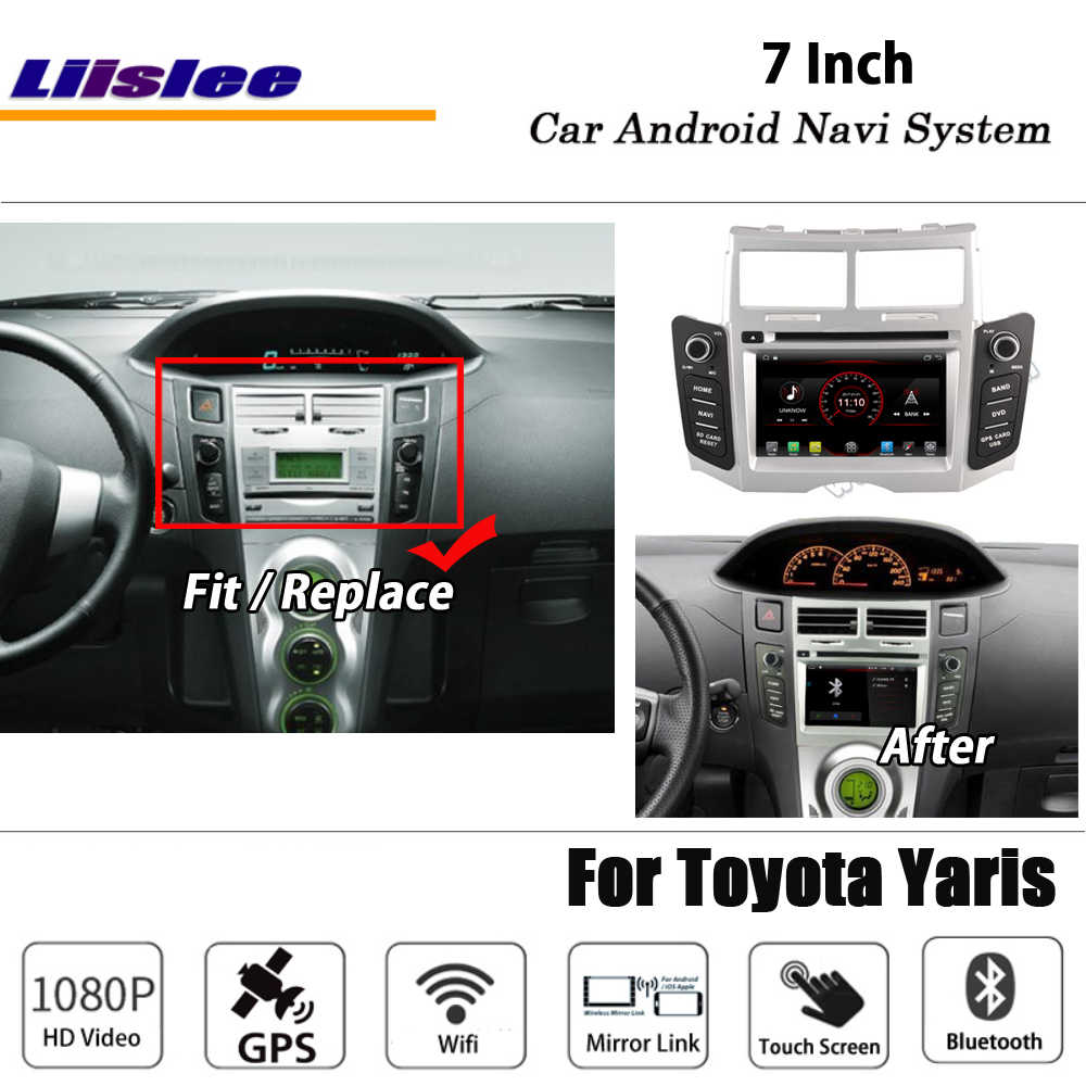 Fit For Toyota Vios Belta Yaris Sedan Quad Core Android 8