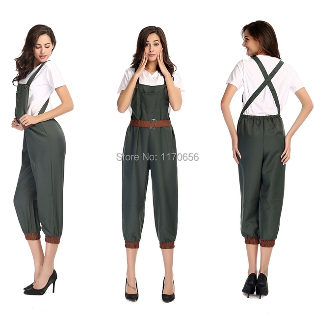 High Quality Halloween Cosplay Farmer Costume Sexy Women Oktoberfest