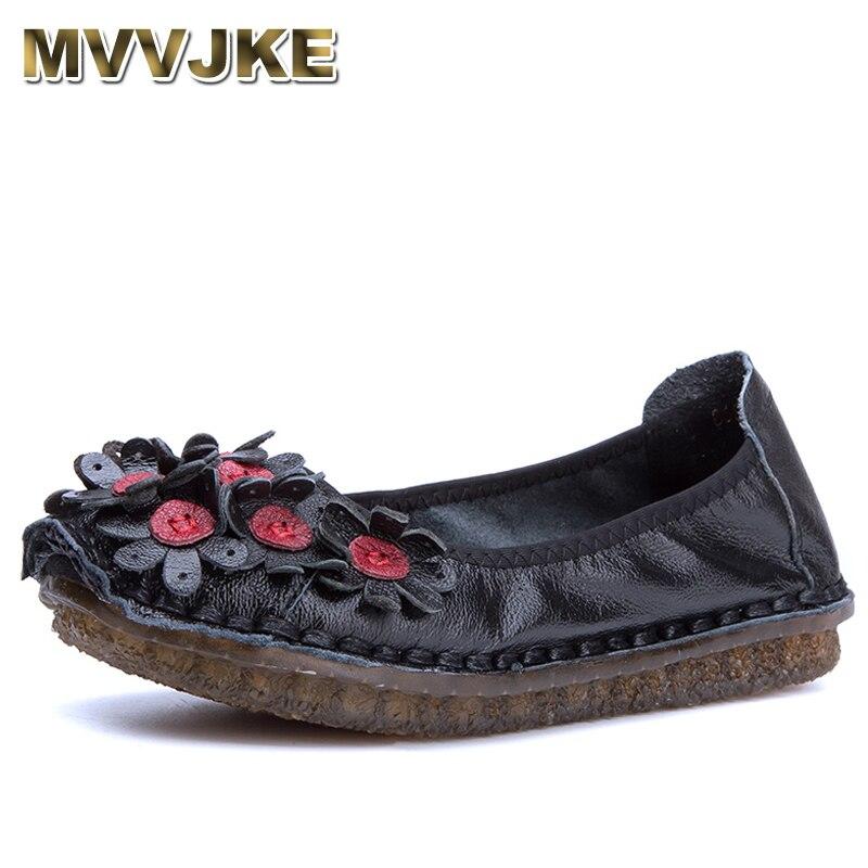 Véritable De Noir En Mvvjke pourpre 2018 Femme Chaussures Cuir Mocassins Mode Femmes Casual E128 Appartements gris Plates Yw884qx1B