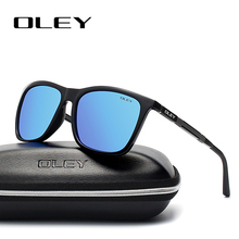 OLEY Lightweight Aluminum-Magnesium Polarized Men Sunglasses