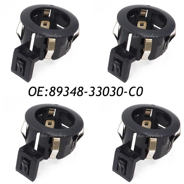 4PCS Parking Sensor RETAINER Black Colour ULTRASONIC SENSOR RETAINER 89348-33030-C0 COVER For TOYOTA CAMRY COROLLA FJ CRUISER