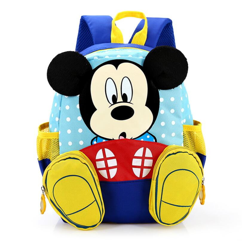 Kids Baby Bag Kindergarten Backpacks Children Cartoon Mickey School Bags Minnie Backpack For Girls Schoolbags Satchel Bolso Sac