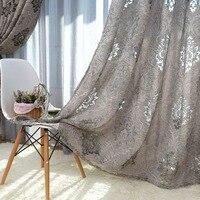 Luxury European Style Design Jacquard Curtain Blind For Window Living Room