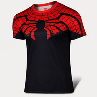 DC Comics The Super Hero Spider Man Shirt Black Widow Red Venom Black Widow Spider Man