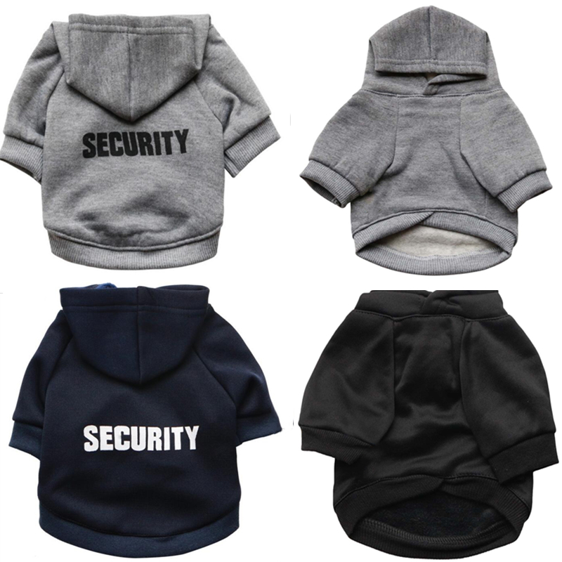 Security Dog Clothes For A Small Dog Coat Clothing For Pets Large Dogs Jacket Chihuahua Clothes Hoodies Pet Products Outfit 48