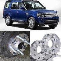 Teeze 4pcs 5X120 72.6CB Hubcenteric 25mm de Espessura Espaçadores de Roda Adaptadores Para Land Rover Range Rover/Descoberta 3