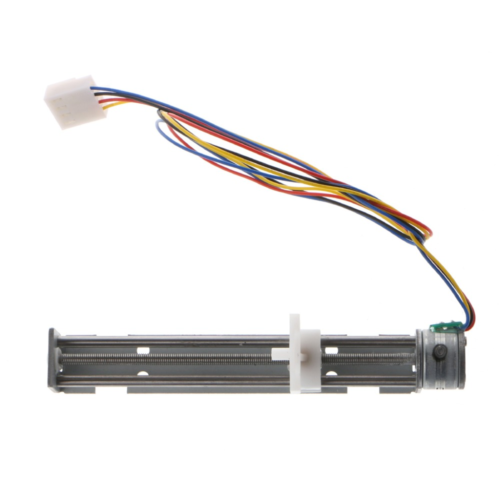 18 Degree Step Angle Stepper Motor Screw With Nut Slider 2 Phase 4 Wiring New High Quality Dc 9v Drive