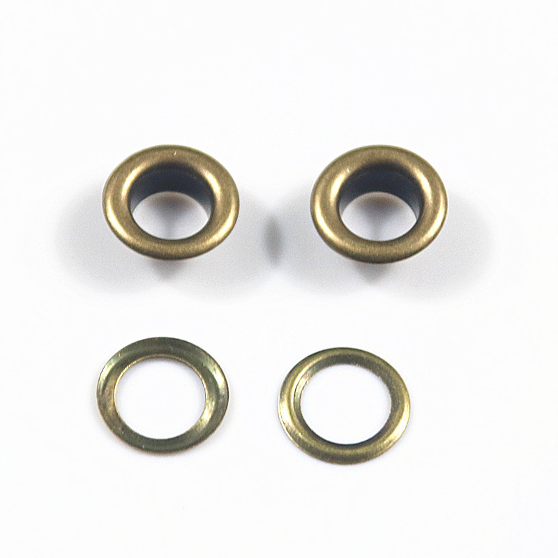 6 Set Metal Snap Buttons Jean Replacement Brass 20mm with Die Punch Tool Kit