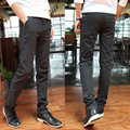 2016 New Arrival High Fashion skinny Pants Casual Mens Business Trousers Cotton good quality